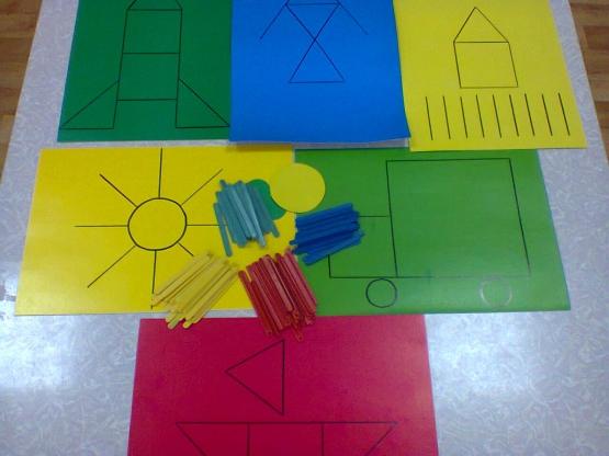 Математические игры для детей 3-4 лет своими руками